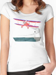 Biplane Women's Fitted Scoop T-Shirt