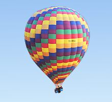 Hot Air Balloon by Geoffrey Higges