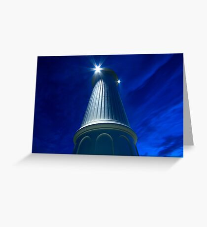Flagstaff lighthouse Greeting Card