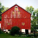 Red Barn In Custard, PA by Geno Rugh