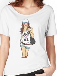 sexy Women's Relaxed Fit T-Shirt