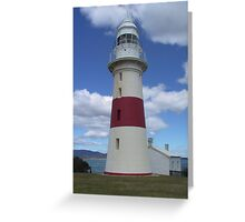 Low Head Lighthouse in George Town Tasmania Greeting Card