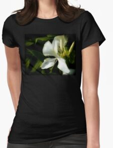 Halo of Hawaiian Ginger Womens Fitted T-Shirt