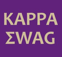 Kappa Swag (Purple & Gold) by GabeForsell
