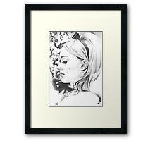 Miss Dior Framed Print