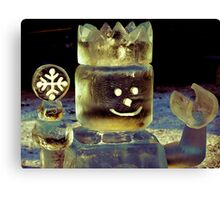 The Toy Ice King Canvas Print