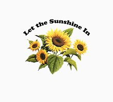 Let the Sunshine In  Womens Fitted T-Shirt