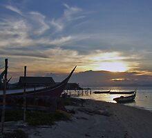 Borneo Sunset by Jarmat