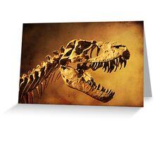 T - Rex Greeting Card