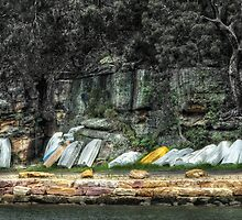 Resting Boats by Jeff Catford
