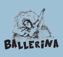 The litle star ballerina Baby Tee