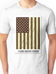 United States Flag Vintage T-shirt Unisex T-Shirt