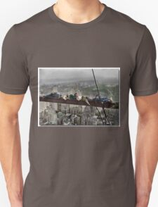 Napping High Above New Yorkv Unisex T-Shirt
