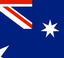 Australia Flag T-shirt Sticker