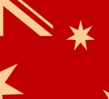 Australia Flag Vintage T-shirt Sticker