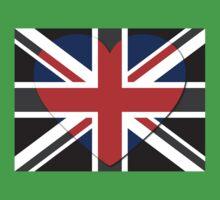 United Kingdom Flag T-shirt Kids Clothes