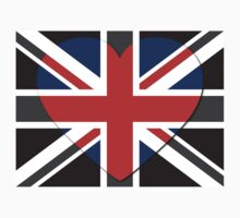 United Kingdom Flag T-shirt by Nhan Ngo