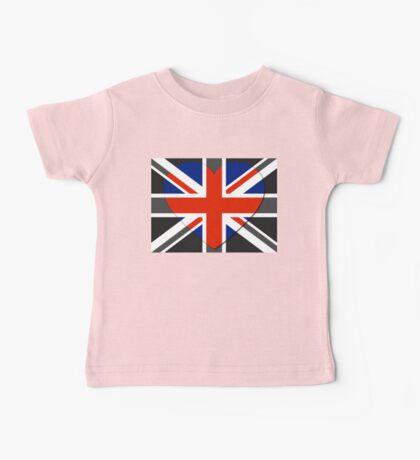 United Kingdom Flag T-shirt Baby Tee