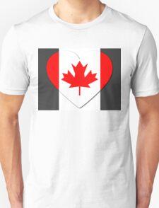 Canada Flag T-shirt T-Shirt
