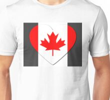 Canada Flag T-shirt Unisex T-Shirt