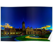 Maryborough Railway Station (HDR) Poster