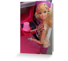 Happy Birthday Barbie - 2012 Greeting Card