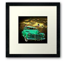 Pearl Harbor Cadillac Framed Print