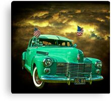 Pearl Harbor Cadillac Canvas Print