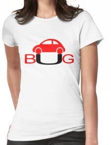The Love Bug - Vintage cars T-Shirt Womens Fitted T-Shirt