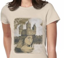 Lady of the Lake Womens Fitted T-Shirt