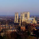 York Minster from the Wheel by jesika