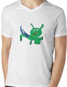 It's fun being a dragon Mens V-Neck T-Shirt