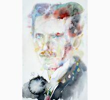 NIKOLA TESLA - watercolor portrait.3 T-Shirt