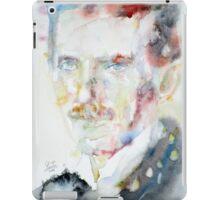 NIKOLA TESLA - watercolor portrait.3 iPad Case/Skin