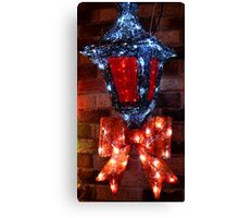 Bow-ing in Lights Canvas Print
