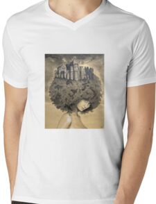 Lady of the Castle Mens V-Neck T-Shirt