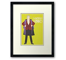 Doctor Who - Jon Pertwee Framed Print