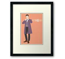 Doctor Who - Matt Smith Framed Print