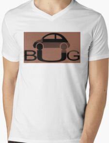 The Love Bug - Vintage cars T-Shirt Mens V-Neck T-Shirt