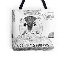 OccupyShadows on Groundhog Day cartoon Tote Bag