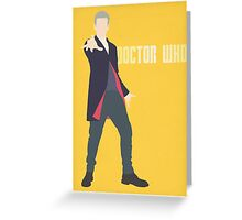 Doctor Who - Peter Capaldi Greeting Card