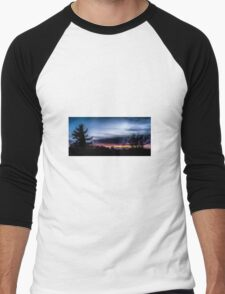 Evening sky Men's Baseball ¾ T-Shirt