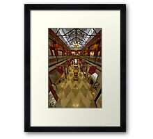 Brisbane Arcade (was the Strand Arcade - from memory) Framed Print