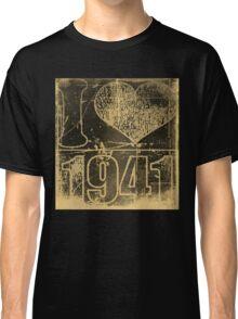 I love 1941 - Vintage t-shirt Classic T-Shirt