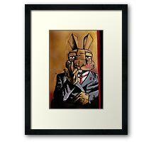 Max Bunnymann Framed Print