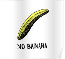 No Banana Poster