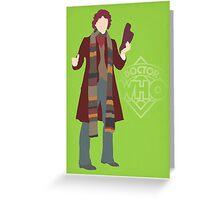 Doctor Who - Tom Baker Greeting Card