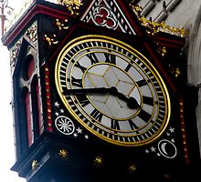 Time waits for no one in Fleet Street by tunna