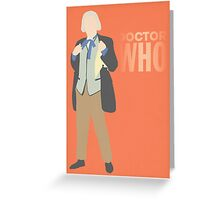 Doctor Who - William Hartnell Greeting Card