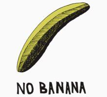 No Banana One Piece - Short Sleeve